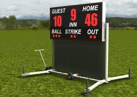 Baseball Scoreboard 005